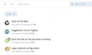 Flarum简洁论坛开源程序